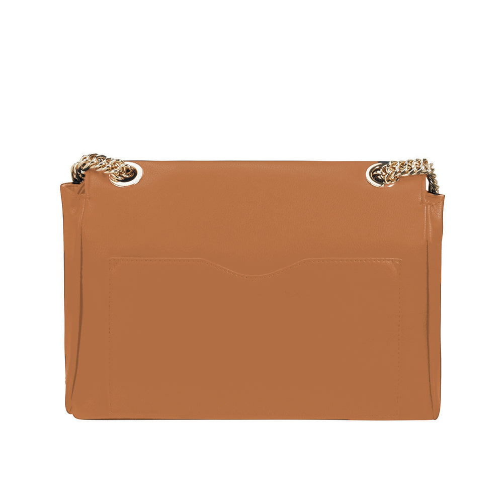 Cartera Satiny 2.0 Shld. Bag+Flap M Copper Blush Chica 1,9 Lts