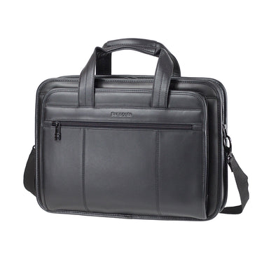 "Maletín Scs Leather Business Spinner 19"" Negro 13,5 Lts"