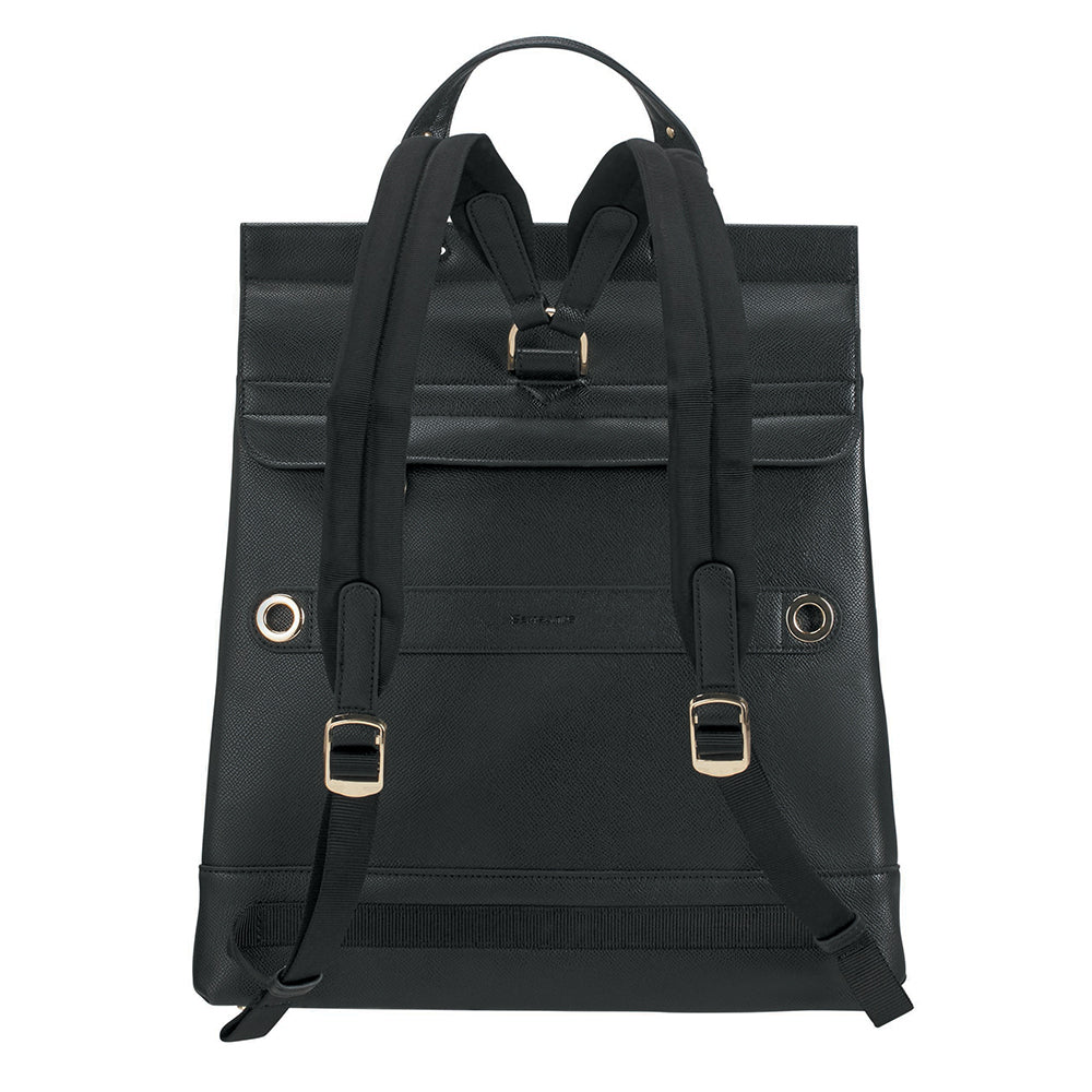 "Cartera Divia Backpack+Flap 10.1"" Black Grande 2,8 Lts"