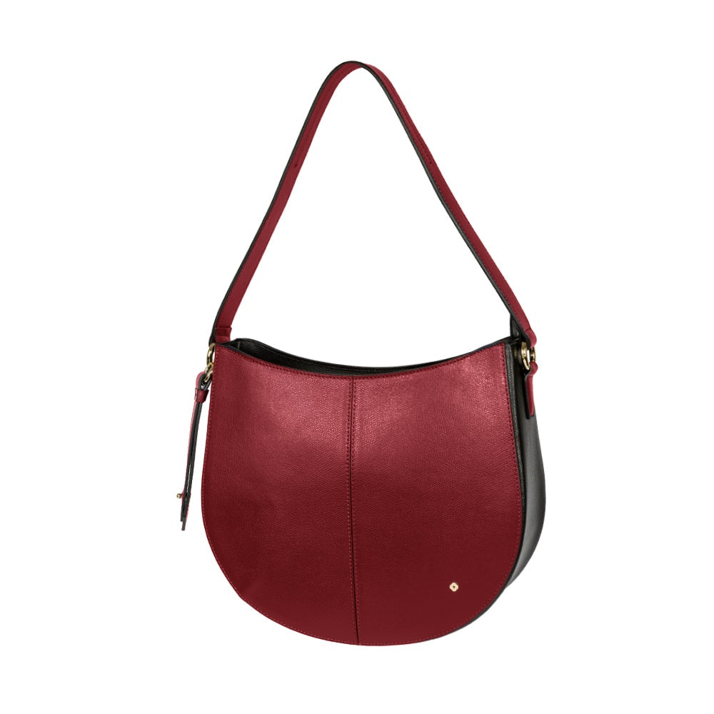 Cartera My Chain Hobo Bag Dark Bordeaux