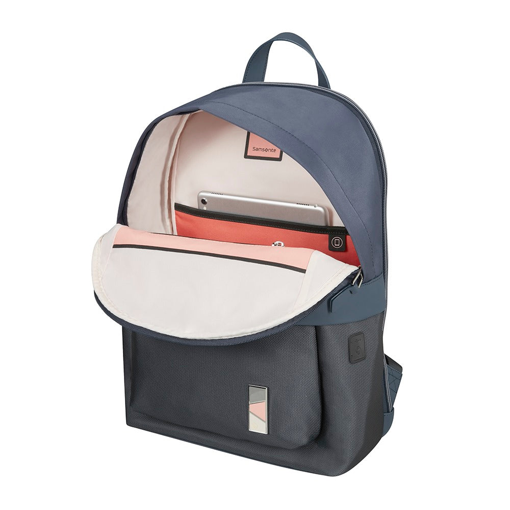 "Mochila Pow-Her Backpack 14.1"" Cloudy Blue"