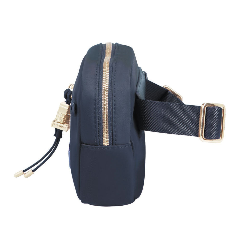 Cartera Karissa Belt Pouch Dark Navy Chica 0,25 Lts