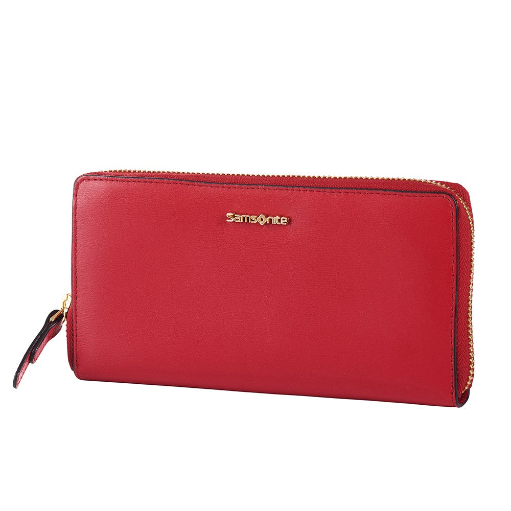 Billetera Classic Lady Slg 319 - L Zip Around L Scarlet Red