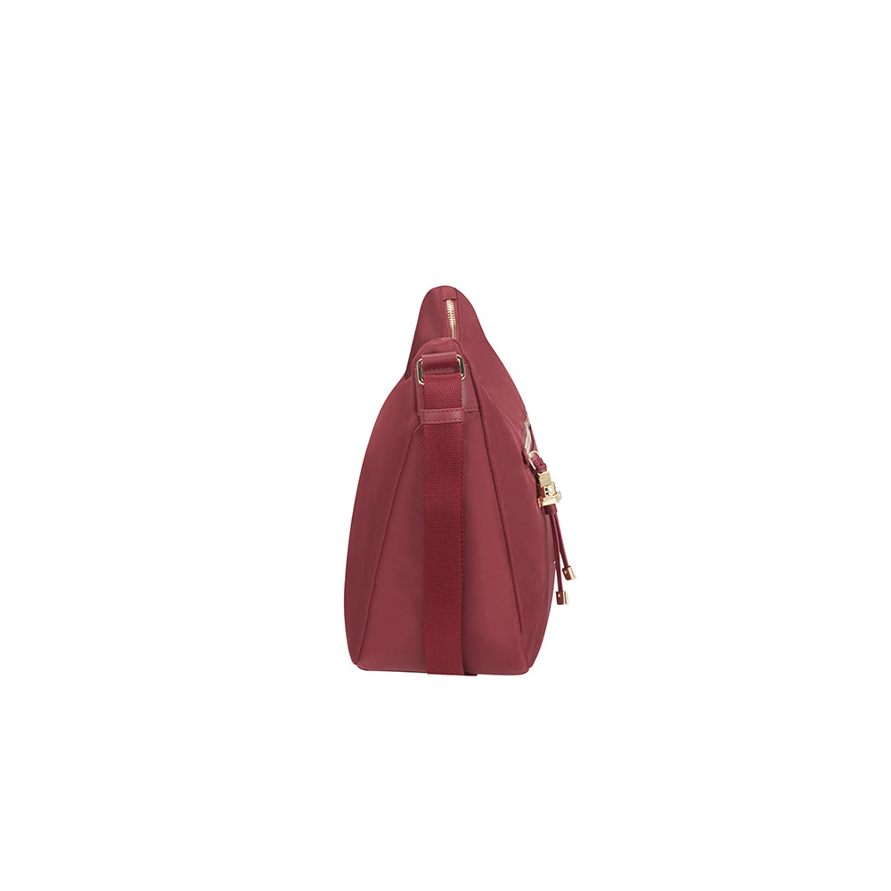 Cartera Karissa Hobo Bag M Dark Bordeaux 1,8 Lts