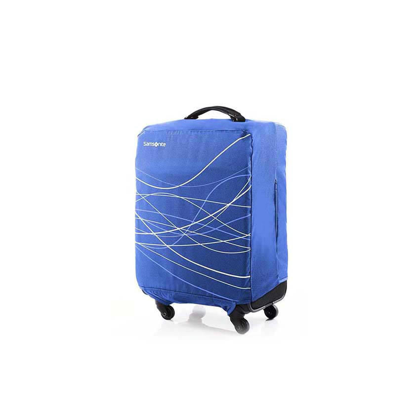 Funda Foldable Luggage Cover Azul L