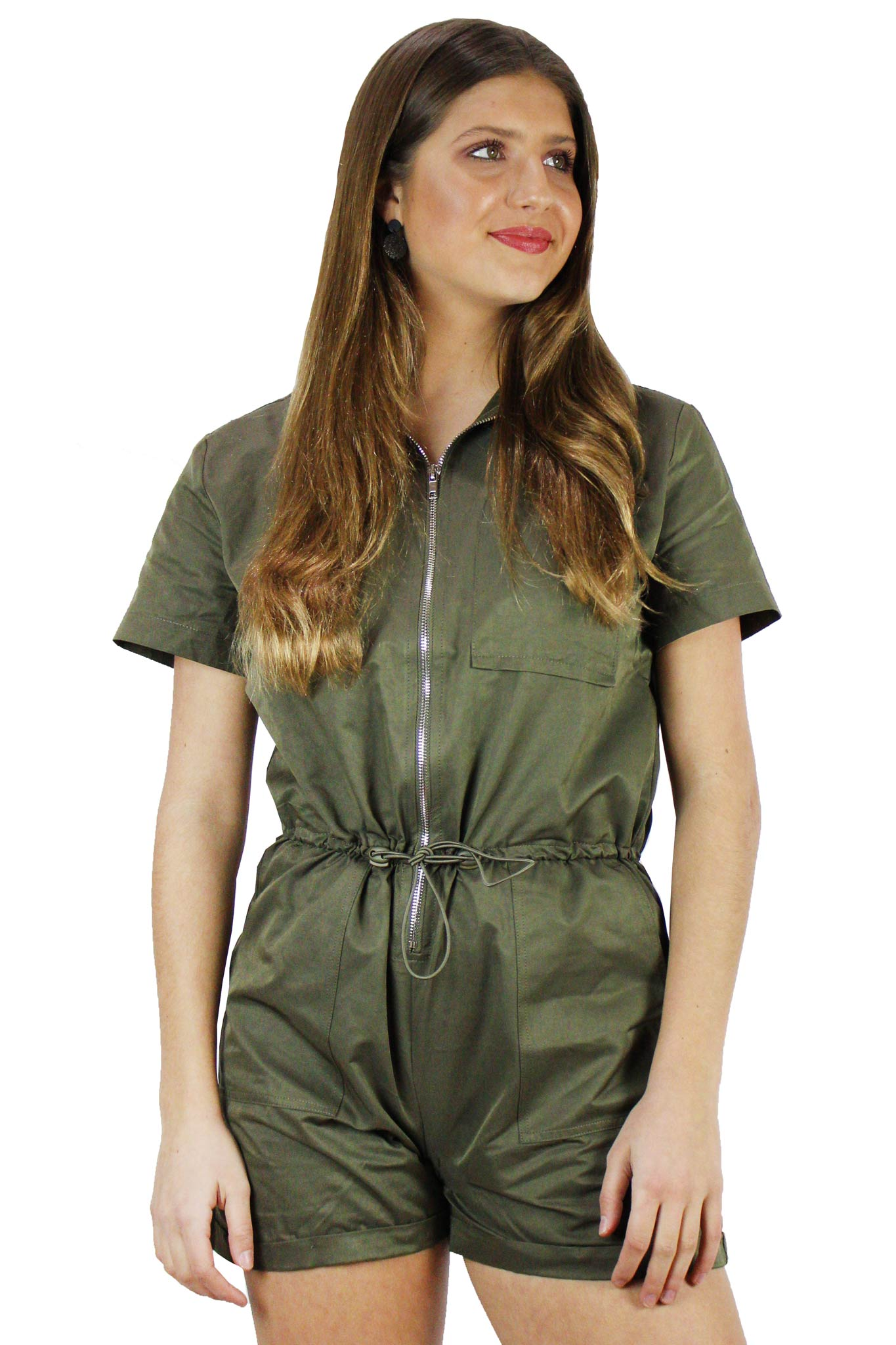 Utility Short Jumpsuit