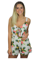 Betty Pineapple Romper