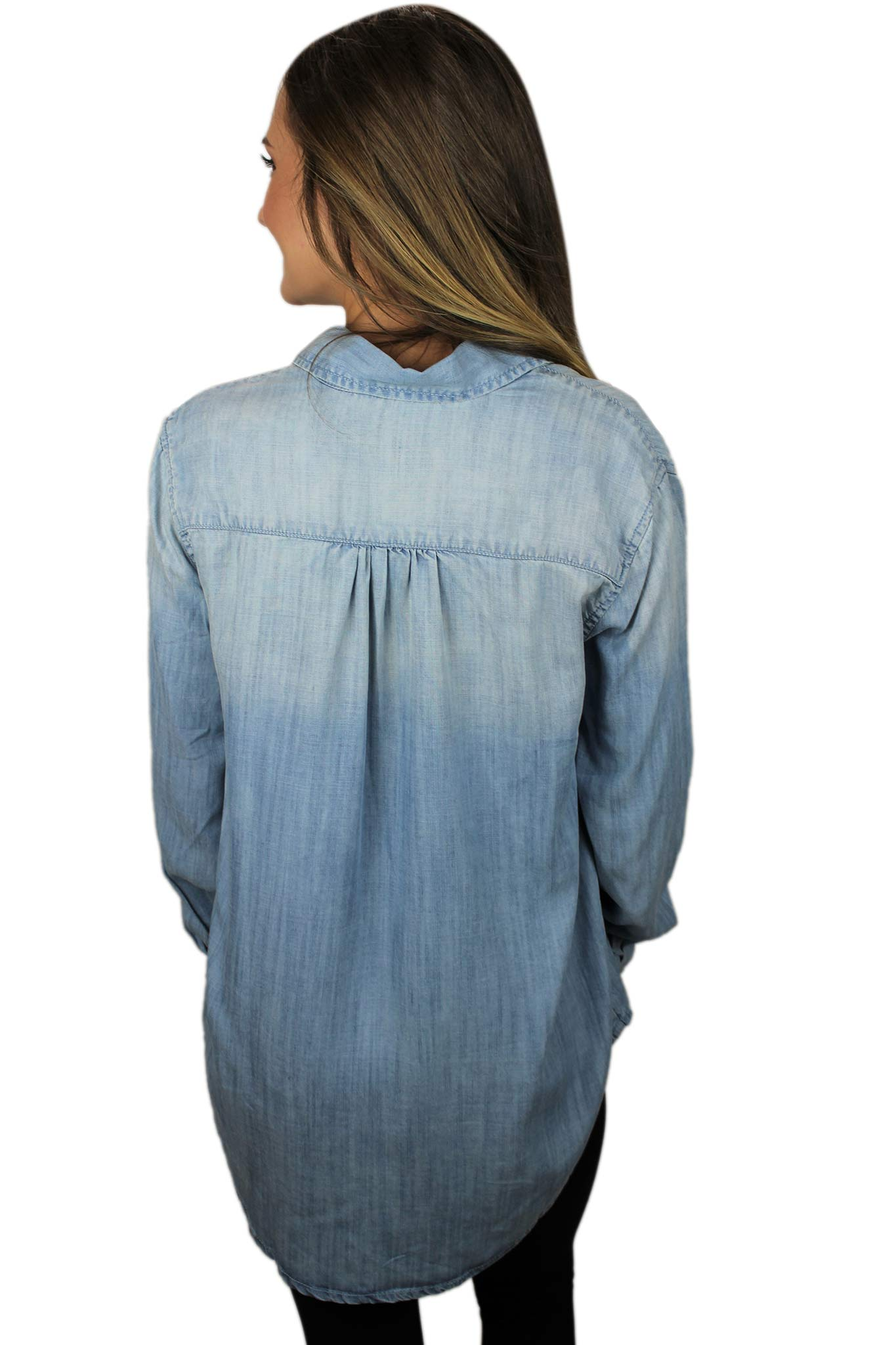 Dreamin' of Denim Top