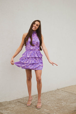 Color Me Purple Dress