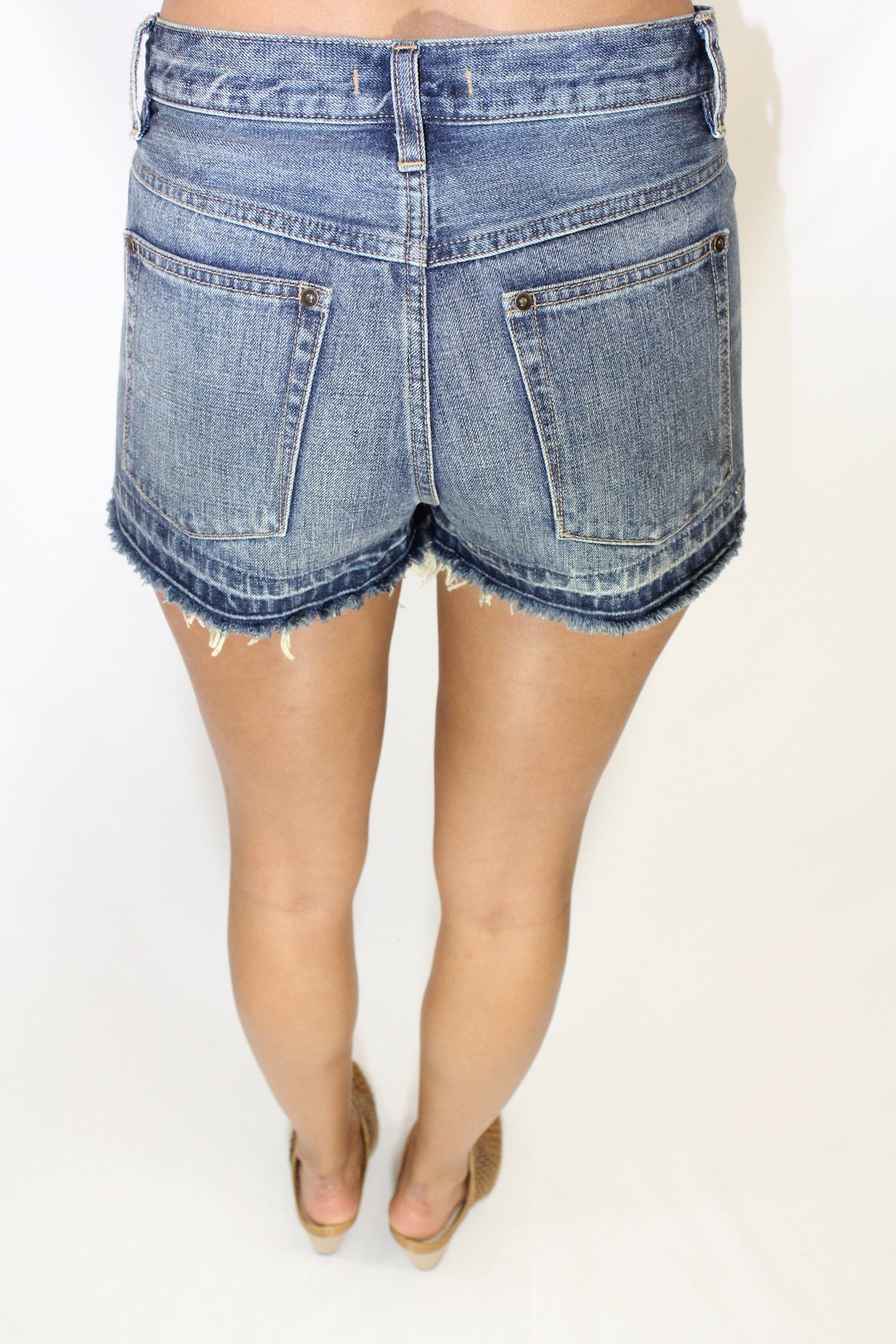 Vintage Released Hem Cutoffs
