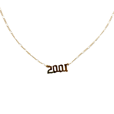 2001 Year Necklace