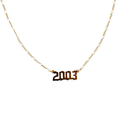 2003 Year Necklace