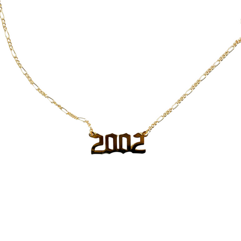 2002 Year Necklace