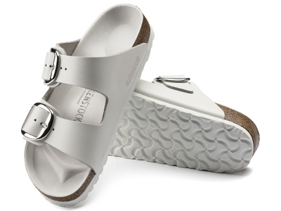 Birkenstock: Arizona White Big Buckle