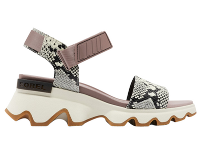 Sorel: Kinetic Sandal in Mauve Vapor