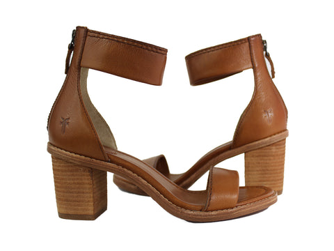 BRIELLE BACK ZIP SANDAL