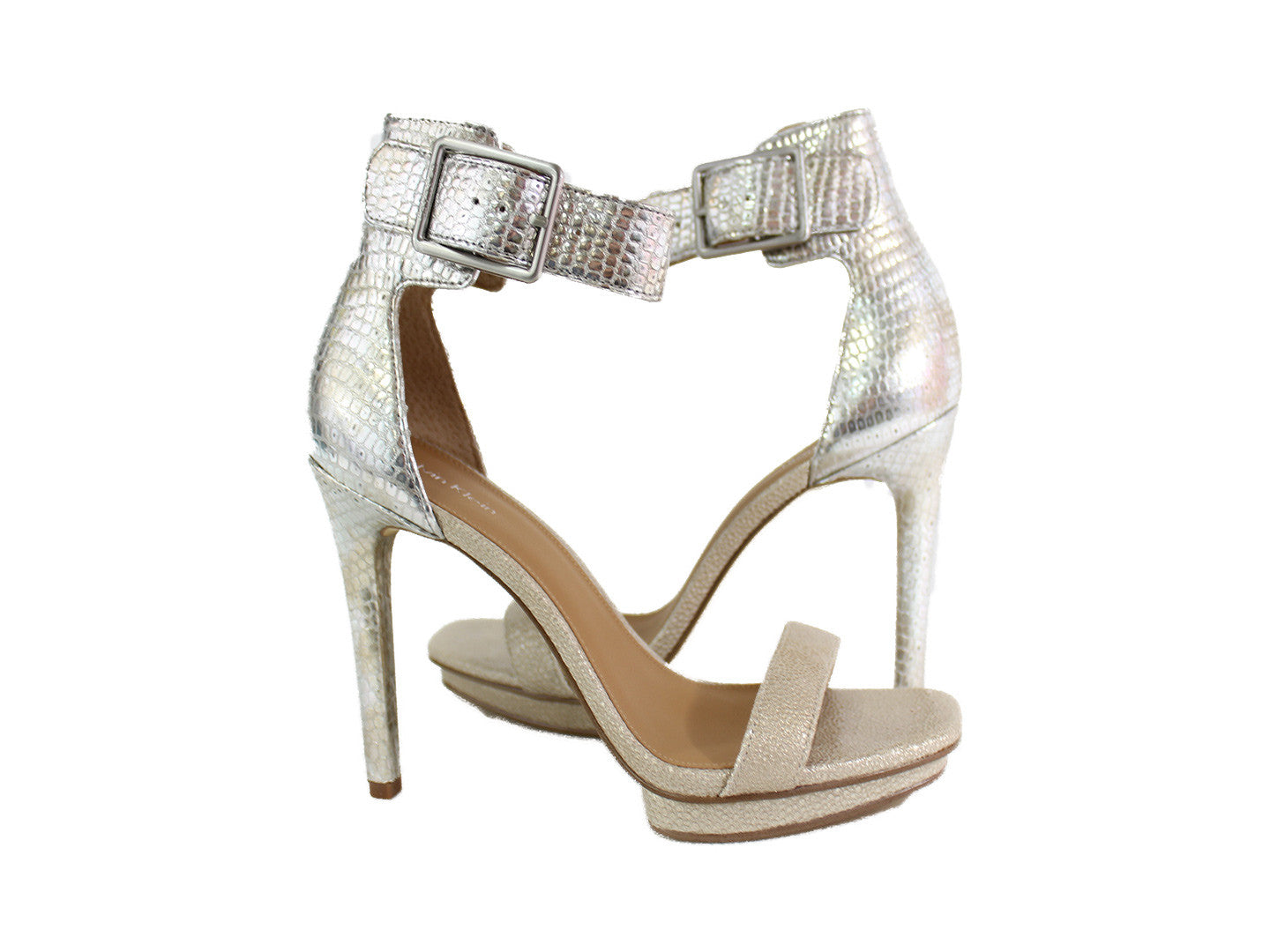 Ankle Strap Square Toe Heel
