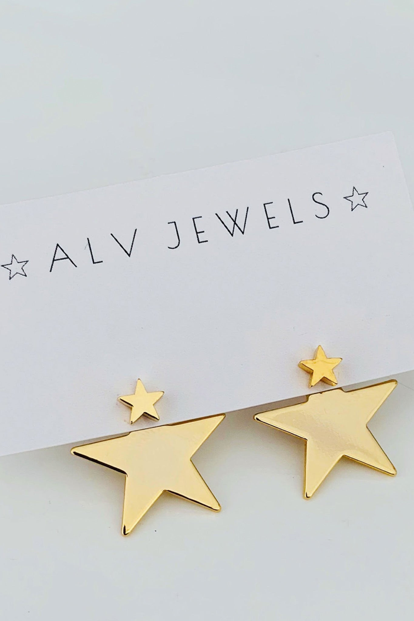 Layered Star Earrings