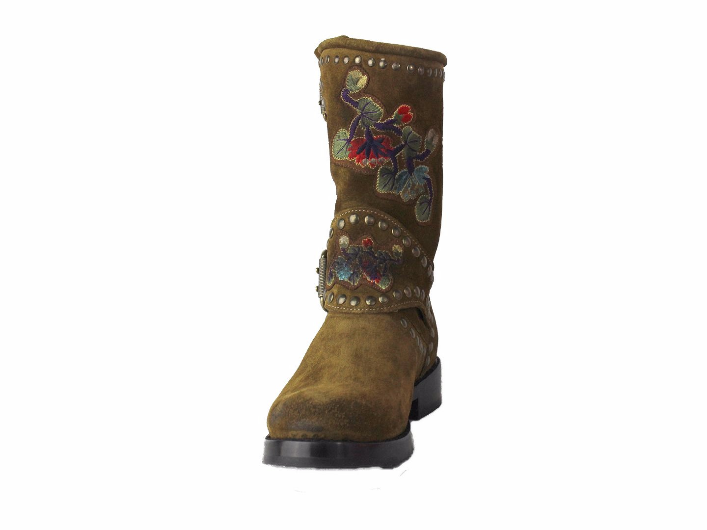 Frye Nat Flower Engineer Boots GTbsidJm