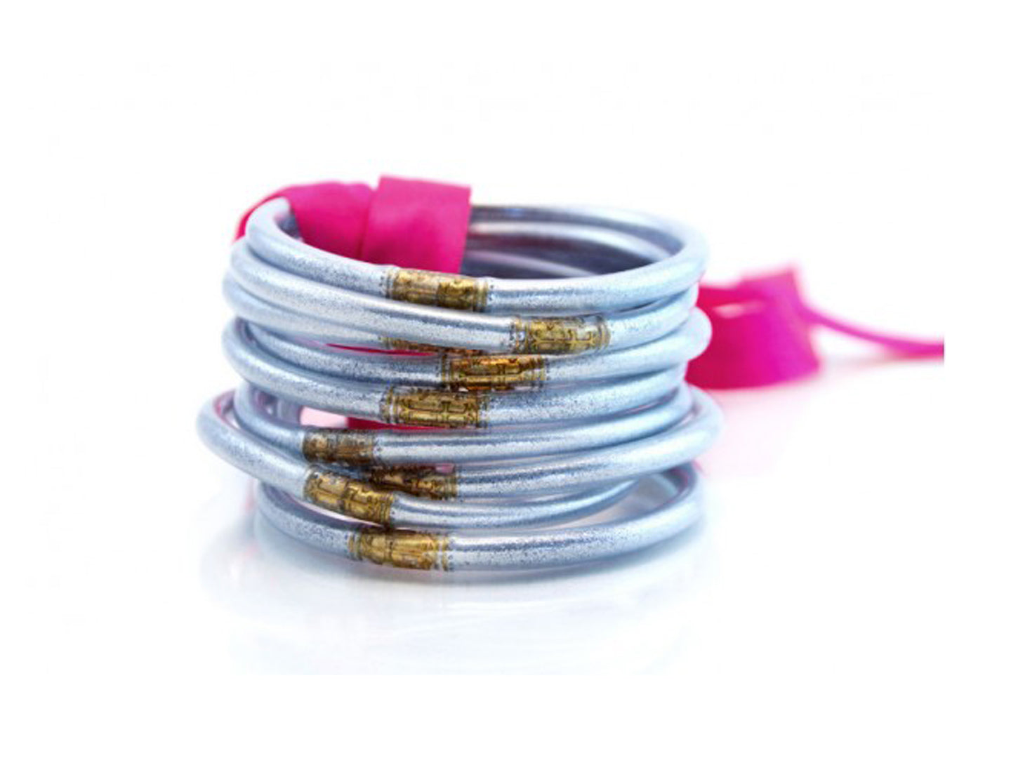 All Weather Silver Bangles