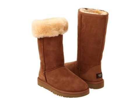 UGG CLASSIC TALL CHESTNUT
