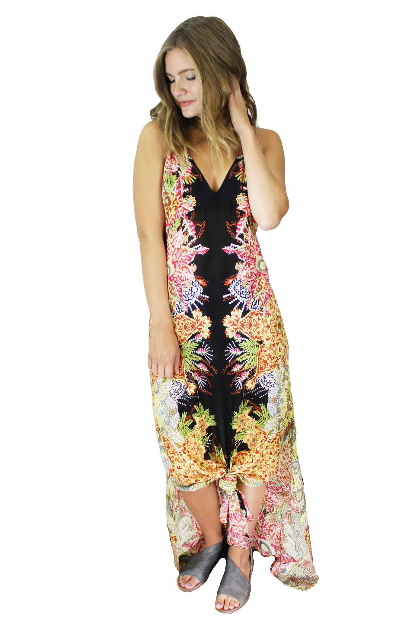 Wildflower Printed Dress