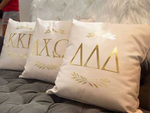 Sorority Throw Pillow