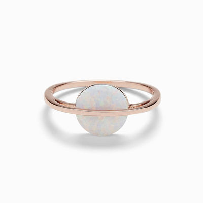 Opal Saturn Ring