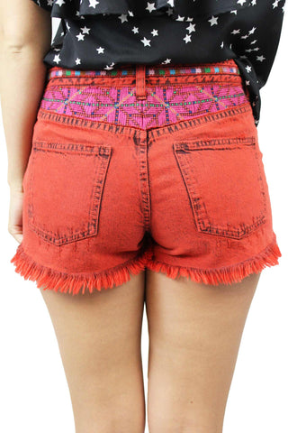 Sun Break Embellished Short