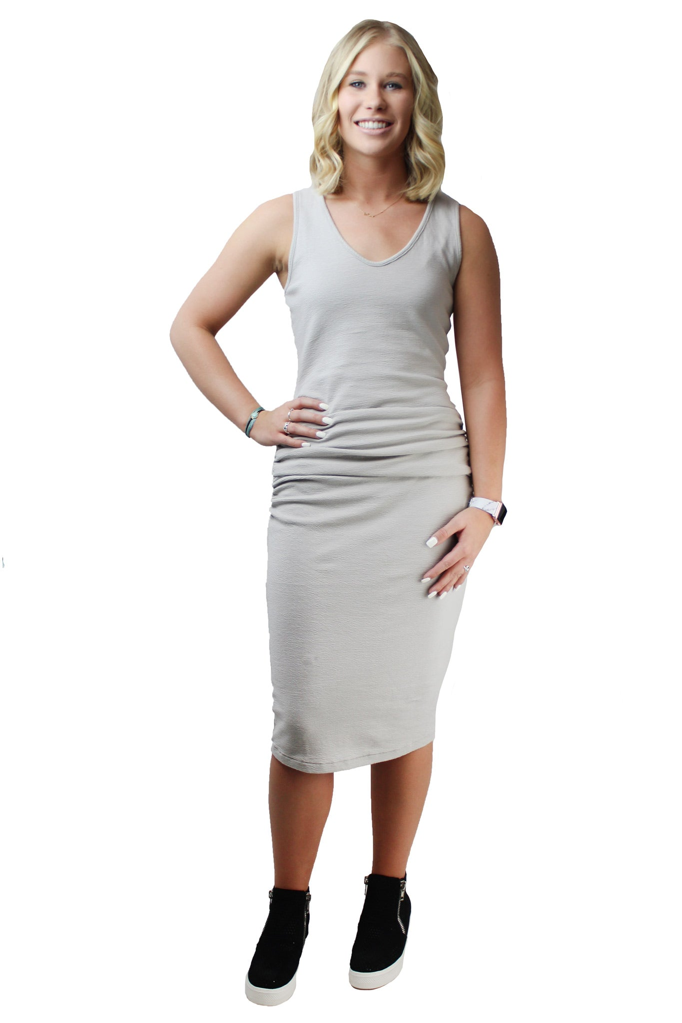 Cora Ruched Dress