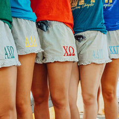 Sorority Seersucker Shorts