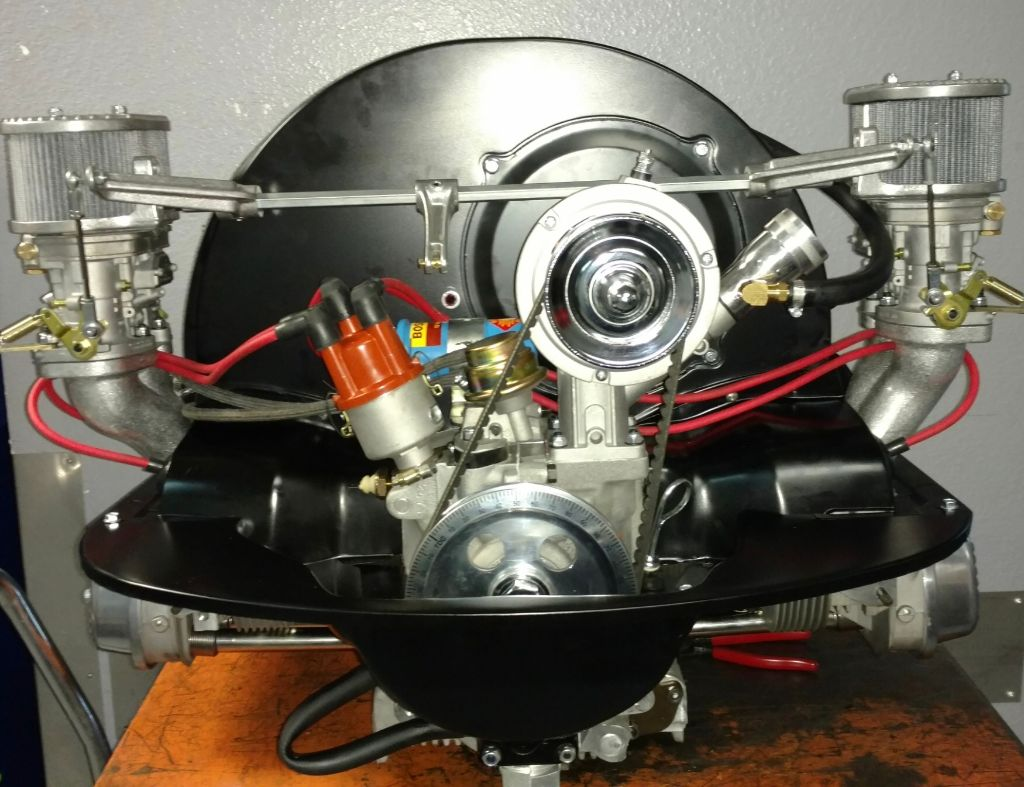 1600cc Economy Complete Motor - With Weber Carb & CB Linkage