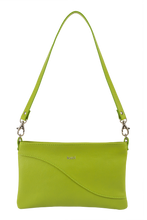 Load image into Gallery viewer, Kairi lime baguette bag