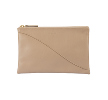 Load image into Gallery viewer, Curve pouch - taupe