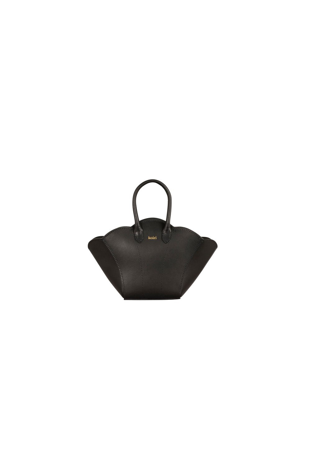 Vegan Mini Shellbag - black