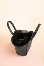 Load image into Gallery viewer, Vegan Mini Shellbag - black