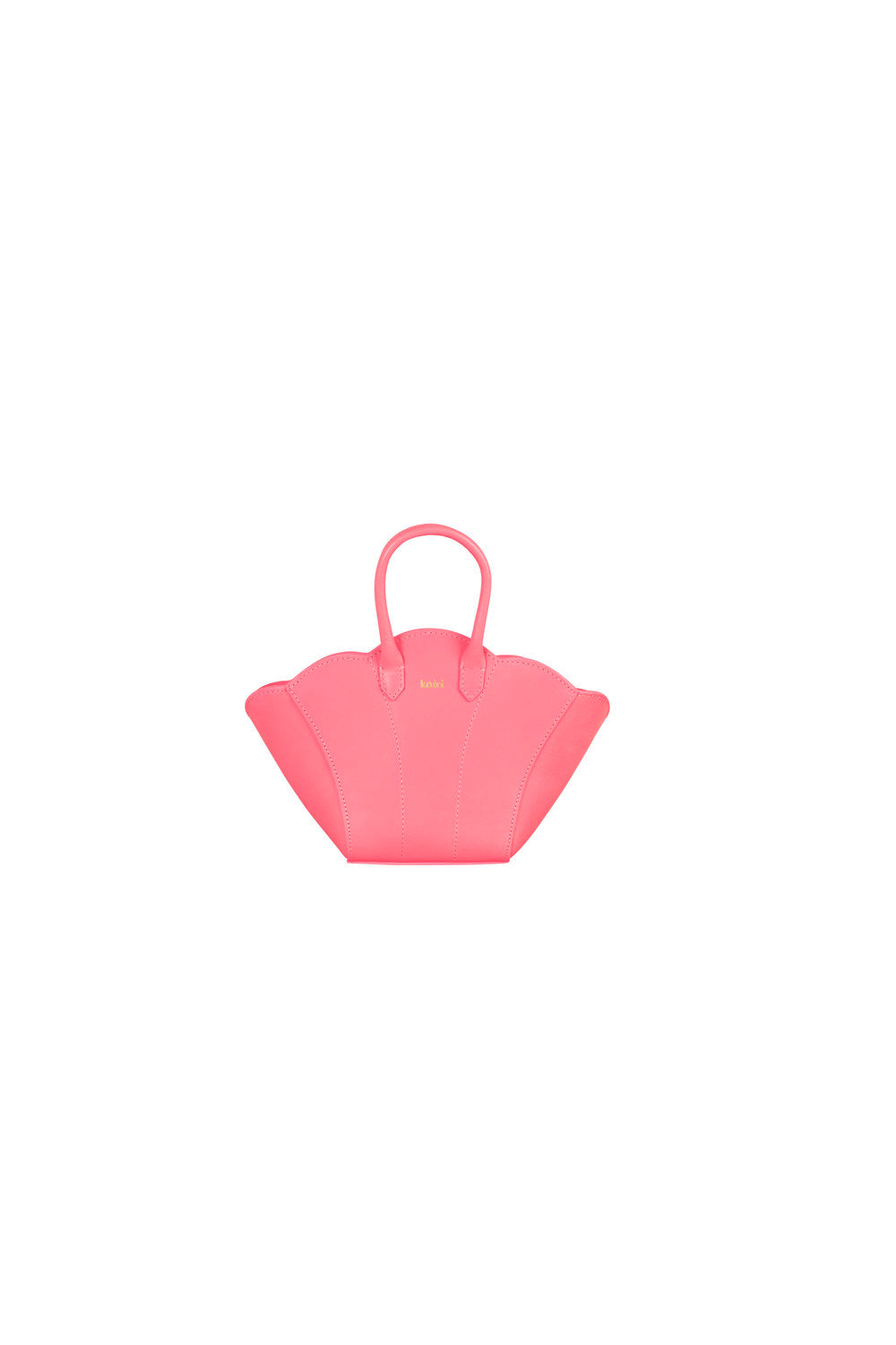 Mini Shellbag - coral pink