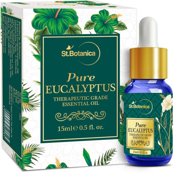 Eucalyptus Pure Aroma Essential Oil, 15ml