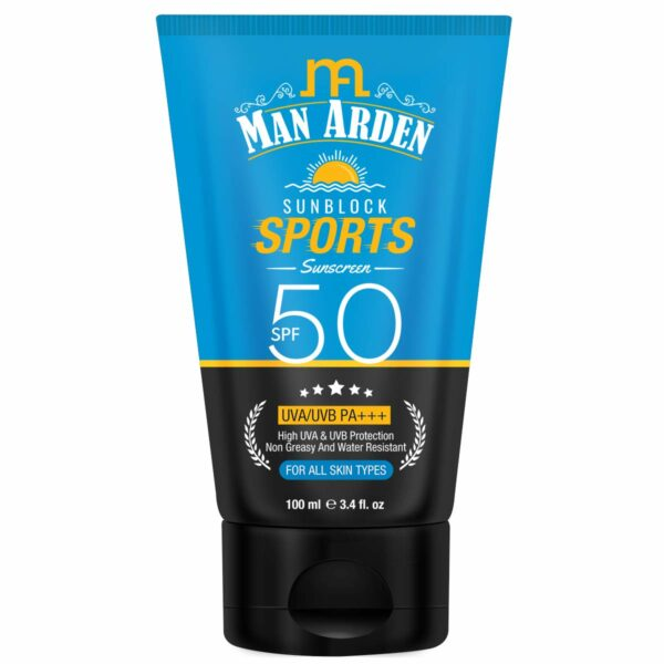 Sunblock Sports Sunscreen SPF 50, 100ml