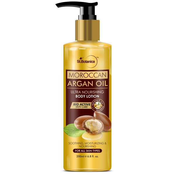 Moroccan Argan Oil Ultra Nourishing Body Lotion, 200ml