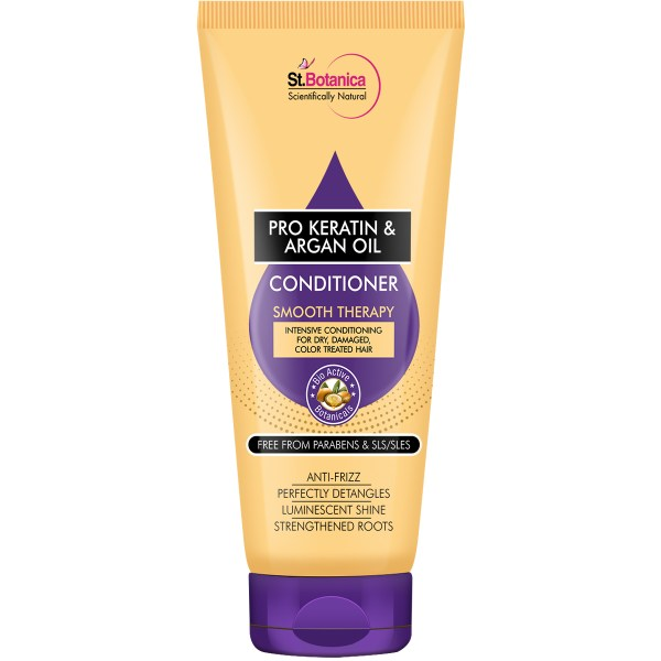 Pro Keratin & Argan Oil Smooth Therapy Conditioner, 200ml