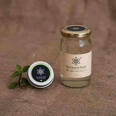 The Coconut People Lip balm + Organic Virgin Coconut Oil || Yes to Coconuts!