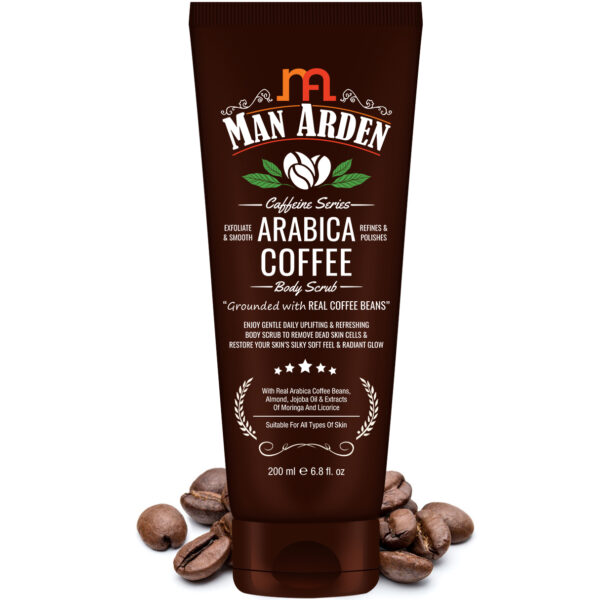 Caffeine Series Arabica Coffee Body Scrub, 200ml