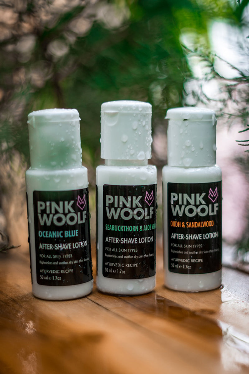 Pink Woolf After Shave Lotion Seabuckthorn & Aloe Vera
