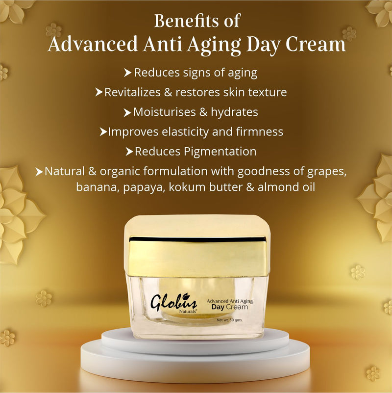 Globus Naturals Advanced Anti Aging Day Cream 50gms