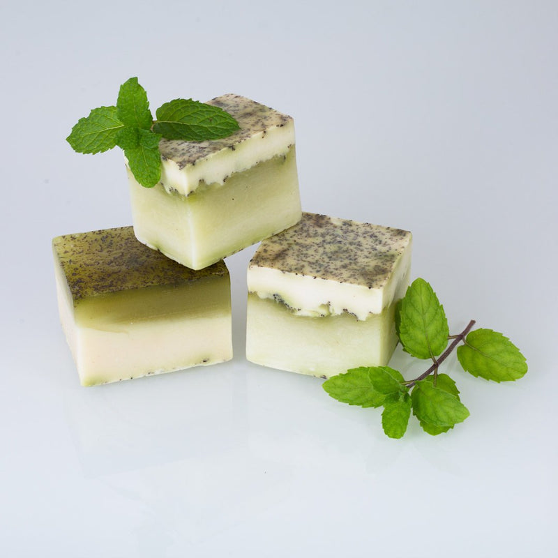 Coconut & Mint Handmade Soap