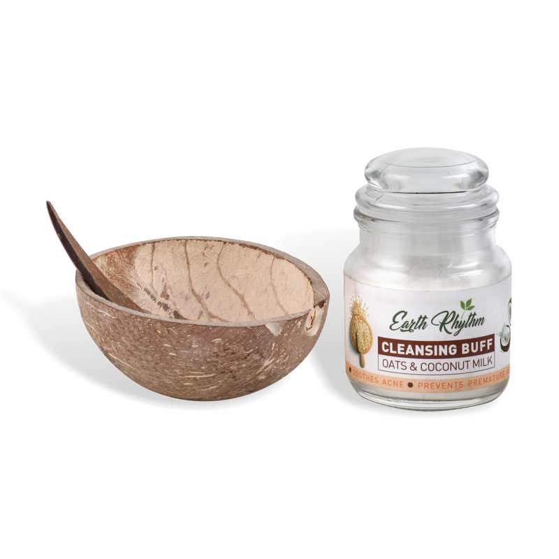 OATS & COCONUT MILK CLEANSING BUFF - Earth Rhythm
