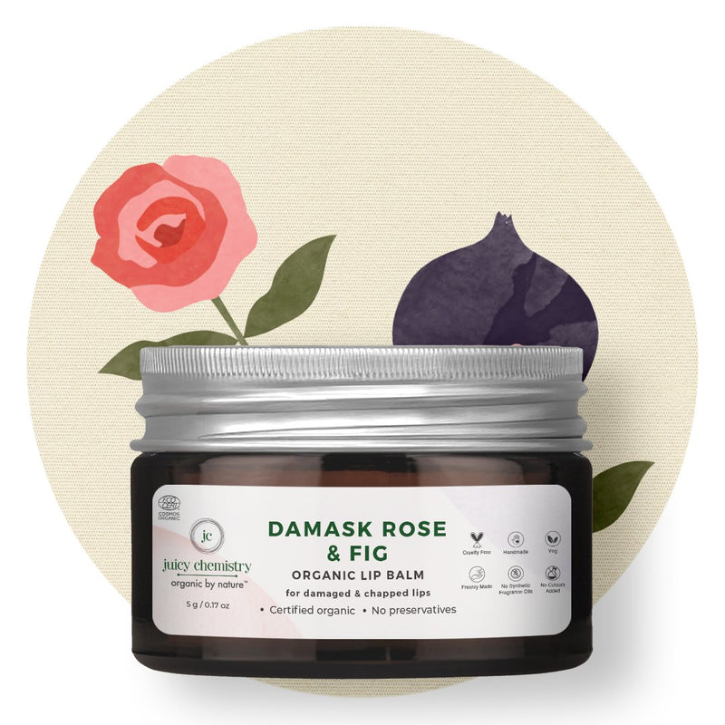 Damask Rose & Fig Lip Balm
