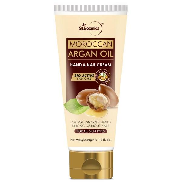 Moroccan Argan Oil Hand and Nail Cream, 50g