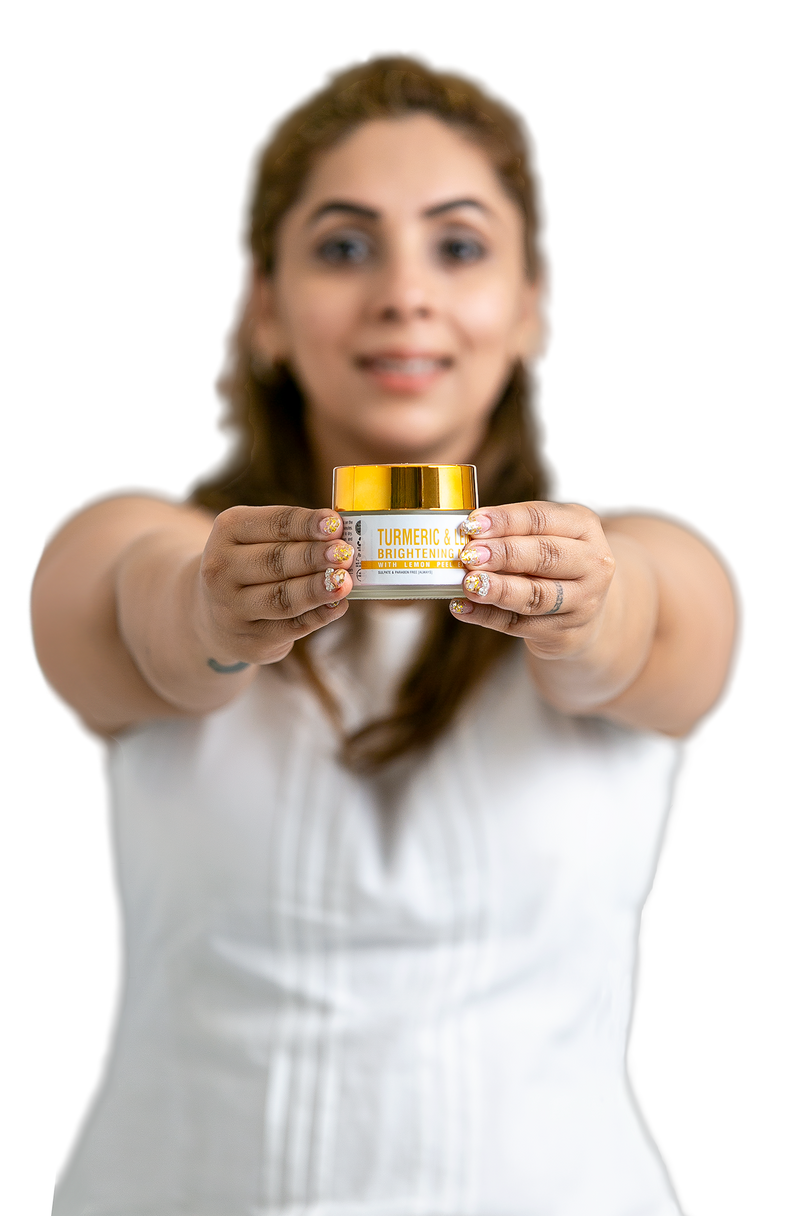 TURMERIC & LEMON BRIGHTENING MASK - Earth Rhythm